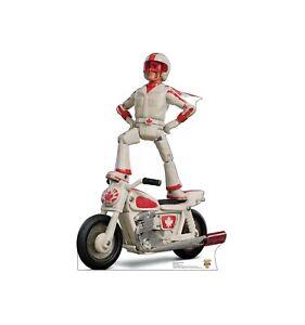 Mattel GFB55 - Disney Pixar Toy Story 4 Stunt Motorradfahrer Duke Caboom...