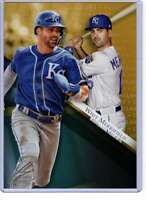 Whit Merrifield 2019 Topps Gold Label Class One 5x7 Gold #32 /10 Royals