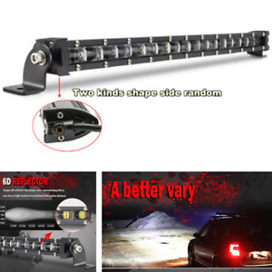 "6D Car Slim LED Light Bar20"" 180W Combo Spot Beam Work Truck Offroad 4WD IP68"