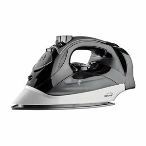 Brentwood MPI-90BK 1200 W Laundry Clothes Steam Iron with Auto Shut Off, Black