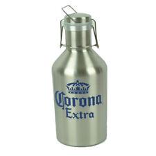 Corona Extra Couronne Logo Acier Inoxydable Growler 64oz Bière Cruche Métallique