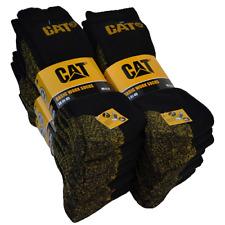 12 CAT Socken Arbeitssocken Work 41-45 schwarz Herrensocken Caterpillar