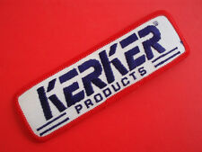 "KERKER EXHAUST • NOS Vintage 5"" Racing Patch Suzuki GS GS1000 Katana Drag Bike"