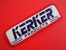 "KERKER EXHAUST • NOS Vintage 5"" Racing Patch Kawasaki GPZ750 GPZ1100 Drag Bike"