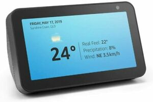 New Amazon Echo Show 5 Smart Display Speaker Alarm Clock Home assistant Alexa
