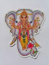 Window Hindu Sticker * GANESH * 10.9cm x 9cm (D-1000) Double Sided