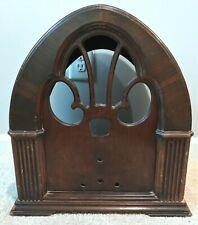 PHILCO Model 90 Cathedral Radio Empty Cabinet Case for Parts Repair Decor