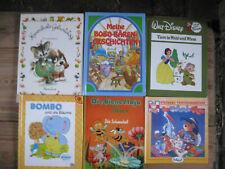 6 Kinder Bücher : Die Biene Maja,Walt Disney,Bombo,Bärtram,Hannibals Geburtstag.