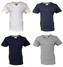 Tommy Hilfiger Herren-T-Shirts mit V-Ausschnitt