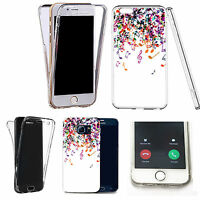 360° Silicone gel full body Case Cover for many mobiles - CLUSTER MUSICAL NOTES