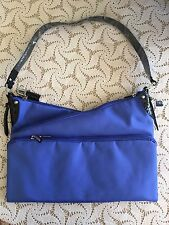Travelon Convertible Shoulder Bag, Expandable, Blue, RFID Protection, NWT