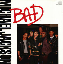 Michael Jackson - Bad  [ Electronic Rock Funk Soul Pop Synth-pop US Maxi Promo ]