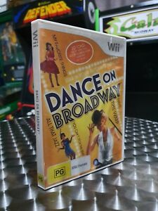 Dance On Broadway - Nintendo Wii Game - With Manual