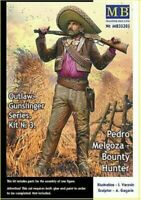 Masterbox 1:35 scale kit  - Gunslinger 3 Pedro Melgoza, Bounty Hunter  MAS35205