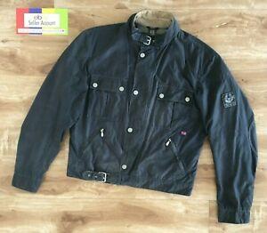 Belstaff RACEMASTER Jacket, waxed cotton, darkblue, Size XL
