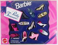 Barbie Pretty Treasures Shoe Set (NEW)