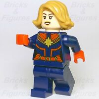 New Super Heroes LEGO® Captain Marvel Minifigure Avengers Endgame 76131 76127