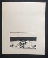 Hans Sperschneider, ohne Titel (Probedruck), Holzschnitt, 1968, handsigniert