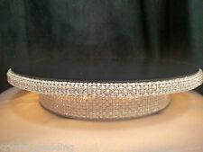 Diamante Pearl embellished illuminated  wedding cake stand  pedestal style
