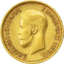 Monnaies, Russie, Nicolas II, 10 Roubles, 1899, Saint-Pétersbourg, KM 64 #33834