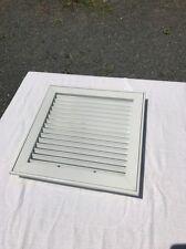"12"" Ceiling Ac Square White Aluminum Duct Cover Air Vent Hvac New Access Panel"