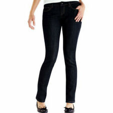 Miley Cyrus Juniors Skinny Jeans Pants Ankle Zipper and Pockets Black Size 11