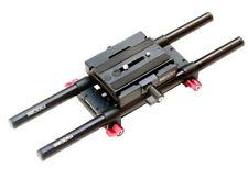 Shootvilla 15mm Rail Rod Support system Base Plate Camera Mount for follow focus