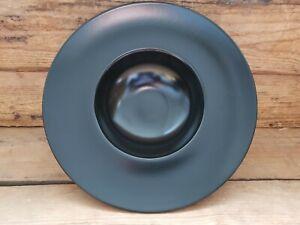 6 Gourmet / Pastateller 25cm Salatteller Suppenteller Dessertteller schwarz matt