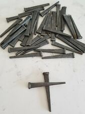 Lot of 40 Antique Square Straight Barn Nails 2.5