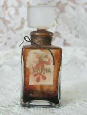 Vintage RUSSIAN LEATHER Cologne Cuir de Russie VONNA Rare Bottle & Stopper