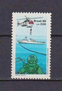 S19158) Brasilien Brazil 1985 MNH Neu Sea Life Saving Service 1v