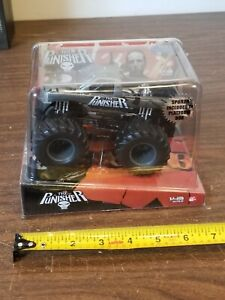 MUSCLE MACHINES 1/43 The Punisher MONSTER TRUCK Monster Patrol