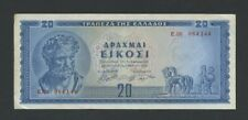 More details for greece  20 drachmai  1955  krause 190  banknotes