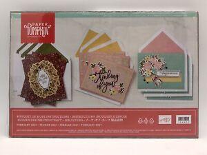 Stampin Up Paper Pumpkin Kit, Feb 2021, Bouquet of Hope, 9 Cards & Envelopes