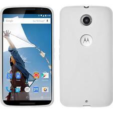 Silicone Case Google Nexus 6 X-Style white Case