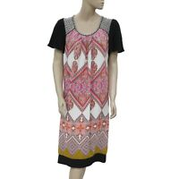 7668ea3eb 190968 New Taillissime La Redoute Colorful Printed Short Sleeve Dress Small  S