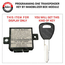 HONDA PRELUDE, ACURA NSX, RL KEY PROGRAMMING BY IMMO BOX - MAIL IN SERVICE