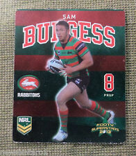 TIP TOP NRL 2013 RUGBY LEAGUE FOOTY SUPERSTARS CARD #24  SAM  BURGESS, SOUTHS