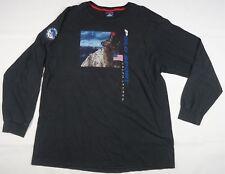 Rare VTG POLO SPORT Ralph Lauren Artic Challenge Flag Spell Out T Shirt 90s XL