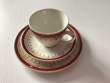 """More details for myott  england royalty 6.5"""" tea plate cup & saucer"""