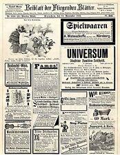 H. Rudolph Würzburg Boxbeutel- Wein Wwe. Mertens  Pankow  Sing- Piston von 1893