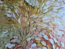 Louise Numina, BUSH MEDICINE LEAVES, Aboriginal Art 147x95cm - ORIGINAL w/ COA