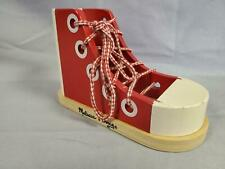 Melissa and Doug Wooden Lacing Shoe #3018 Educational Toy (A11)