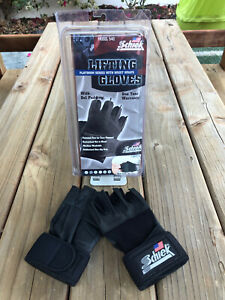 Schiek Sports Platinum 530 Wrist Lifting Gloves - Size S - Brand New!