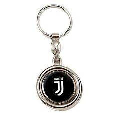 porte-clés JUVENTUS acier poli chaîne pendentif neuf logo JJ