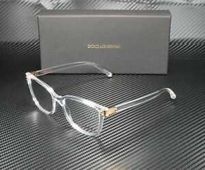 DOLCE & GABBANA DG5036 3133 Crystal Demo Lens 53 mm Women's Eyeglasses