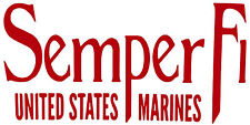 Semper Fi,USMC,The Few The Proud,Threeper,Military,3%,Devil Dog,Vinyl Decal