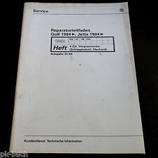 Werkstatthandbuch VW Golf 2 / II + Jetta II Motor 4-Zylinder Schlepphebel ab 84