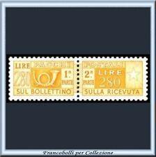 1960 Italia Repubblica L. 280 Pacchi Post. Stelle 95 **