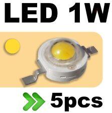 536/5# LED 1W Jaune --- 5pcs